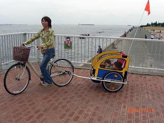 自転車3人乗り対策! ☆ 『2 ...